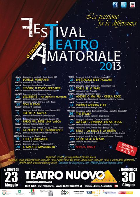 festival teatro amatoriale 2013 cal TN