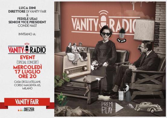 conde nast vanity fair web radio