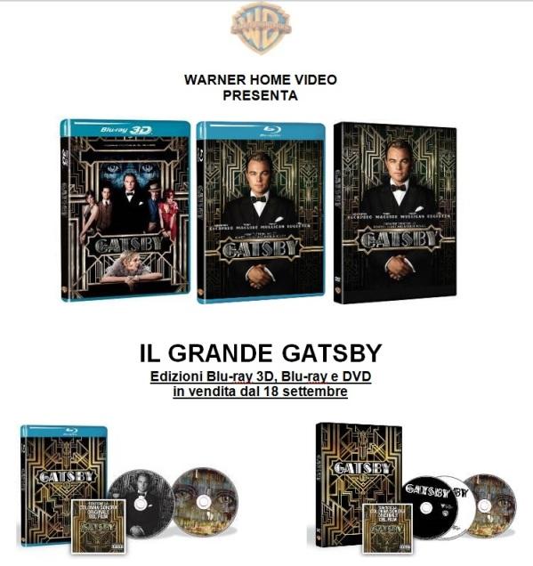 2013 il grande gatsby DVD Bray 3D WHV
