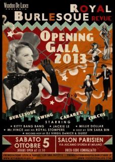 Royal Burlesque Revue 05.10.13