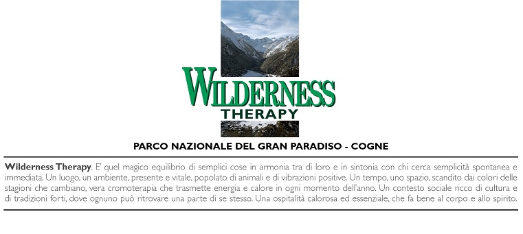 Wilderness Therapy Cogne