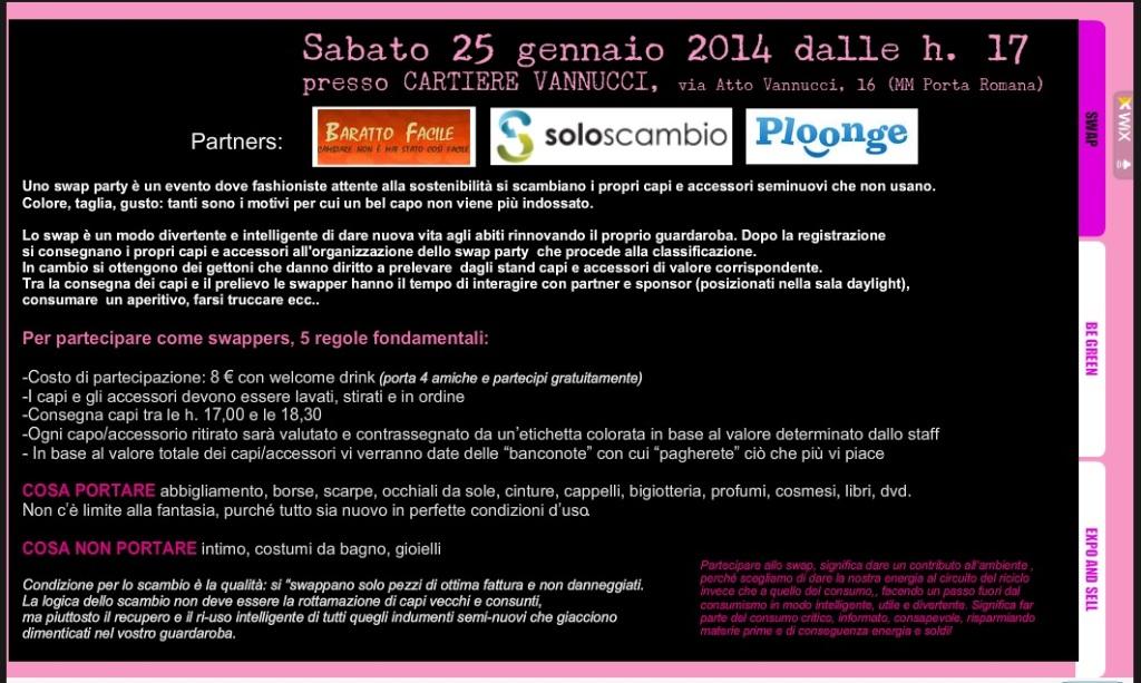 20140125 design expo fashion swap party milano Cartiere Vannucci