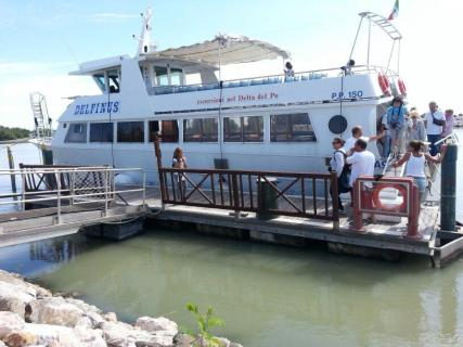 20140711 deltaduemila arrivo delfinus porto garibaldi