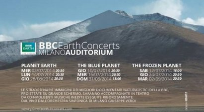 BBC planet earth in concert