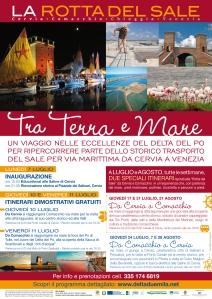 locandina Rotta del Sale Delta2000 Luglio 2014