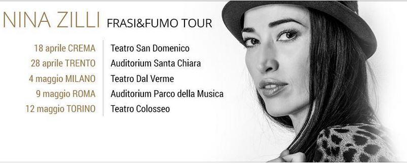 nina zilli tour 2015