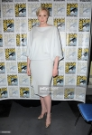 """speaks onstage at the """"Game of Thrones"""" panel during Comic Con International 2015 at the San Diego Convention Center on July 10, 2015 in San Diego, California."""
