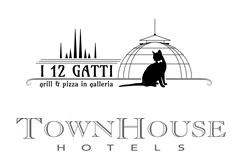 i 12 gatti pizza grill townhousehotels logo