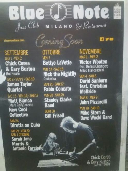 blue note milano coming soon