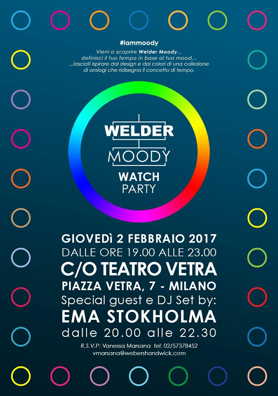 WELDER PRESENTA DUE NUOVE COLLEZIONI DI OROLOGI » iammoody welder moody  watches 2017 02 02 at milan teatro vetra