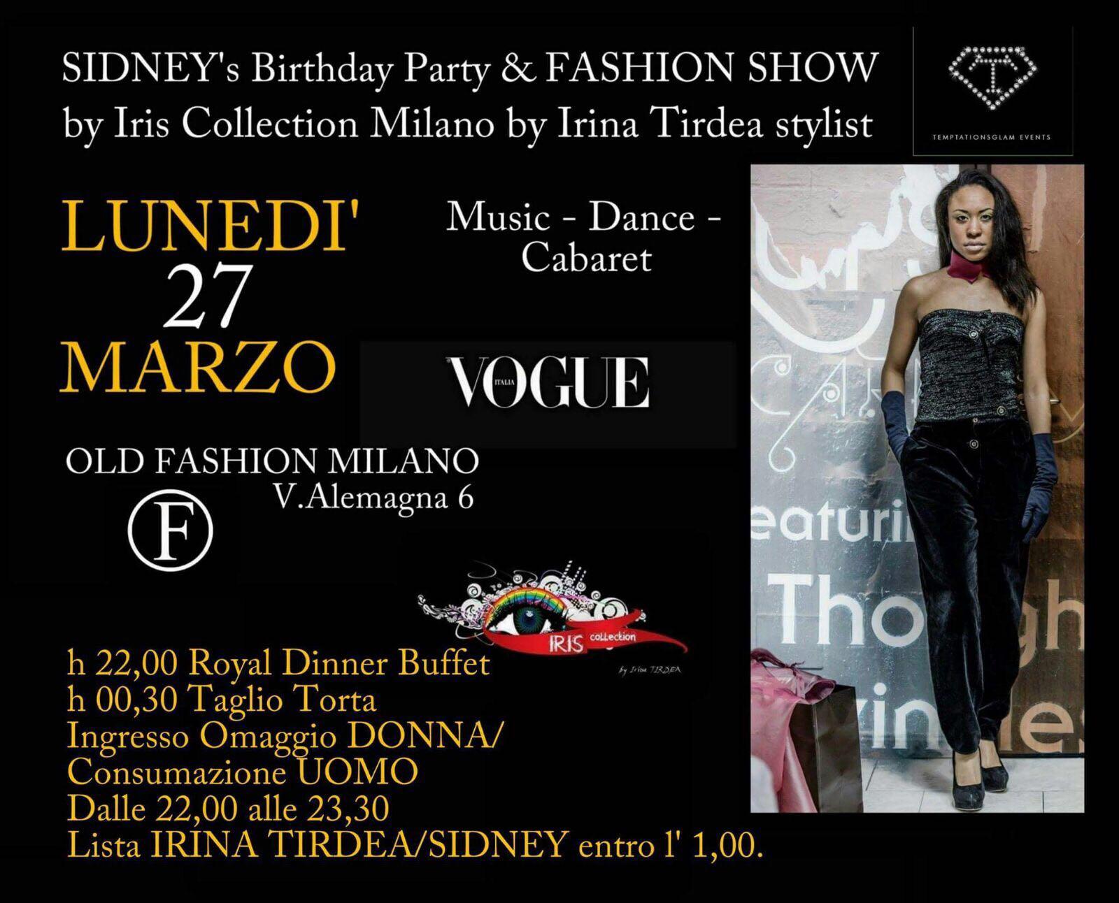 0327 fashion show marchio iris collection milano old fashion