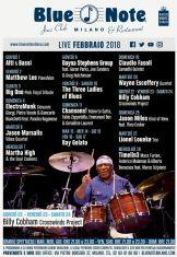 milano blue note live febbraio 2018