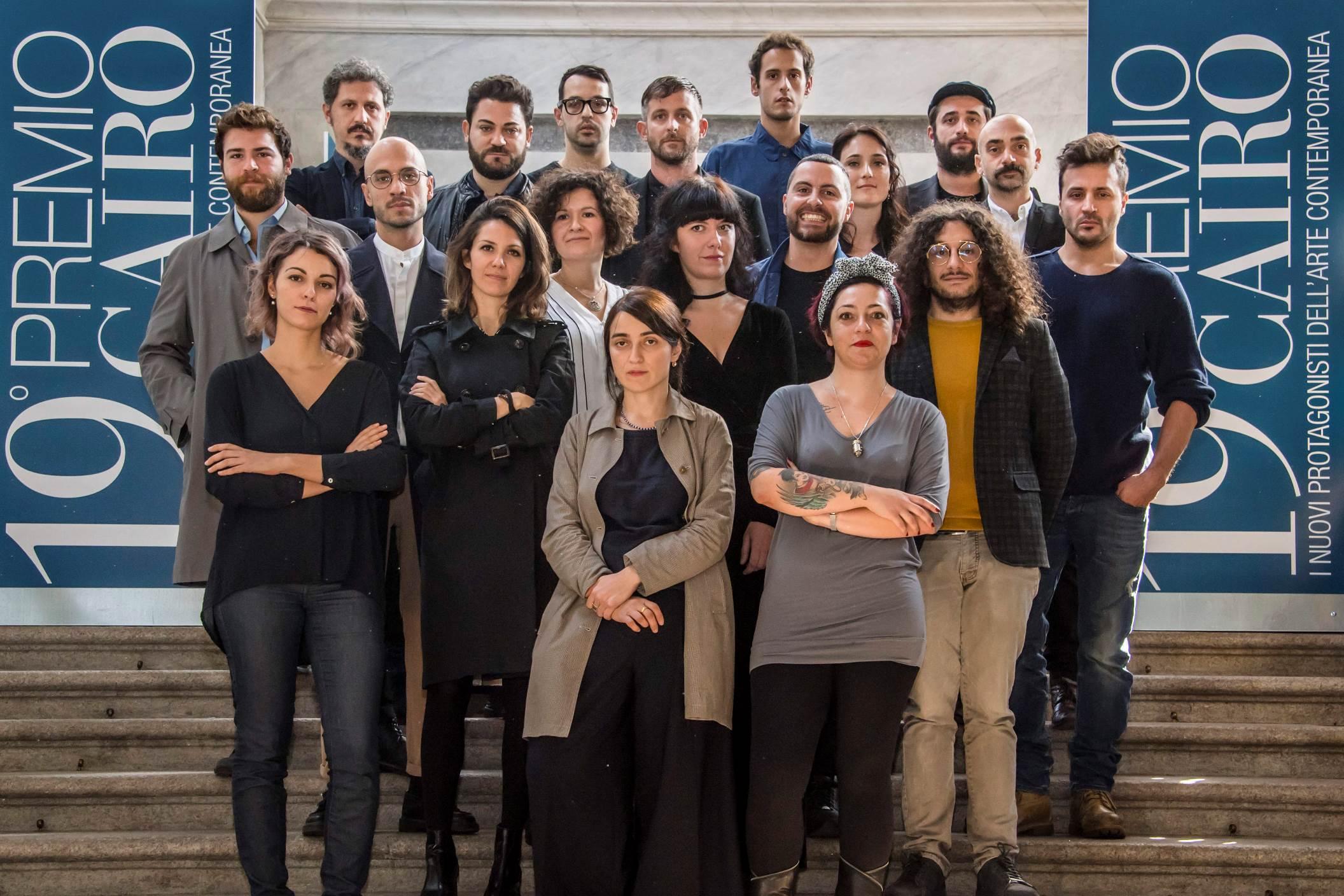 PREMIO CAIRO GRUPPO ARTISTI EDIZIONE 2018