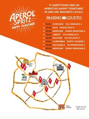Mappa Panino Giusto