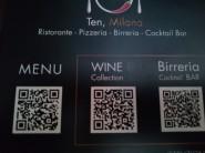 TENrestaurants Milano QRmenu 2020-07-01