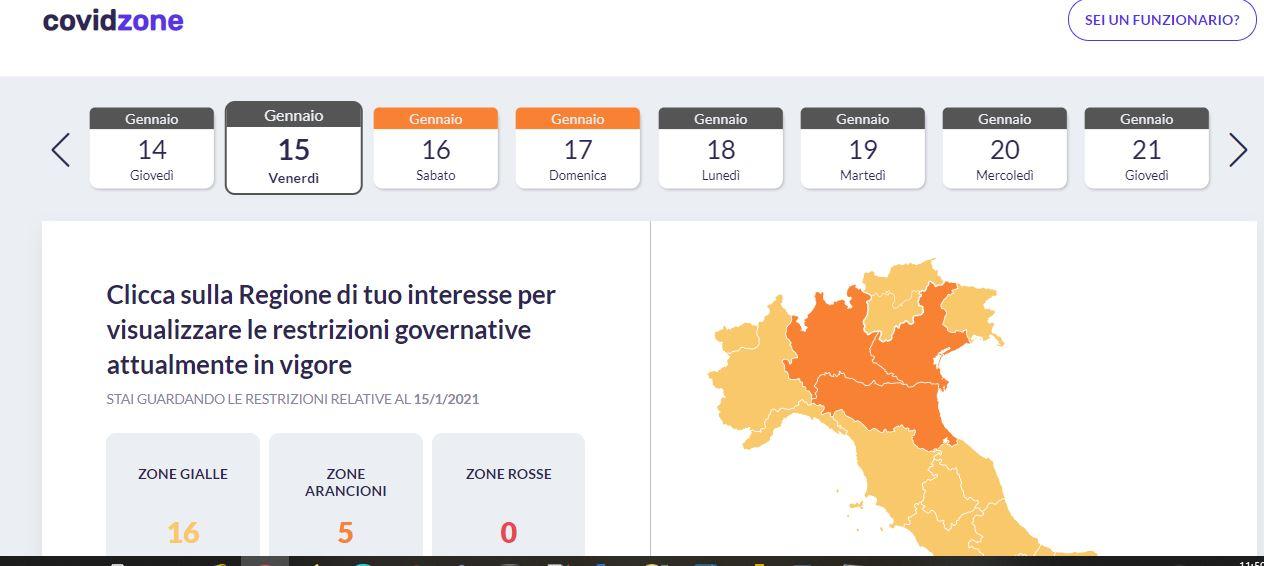 covidzone-info-web